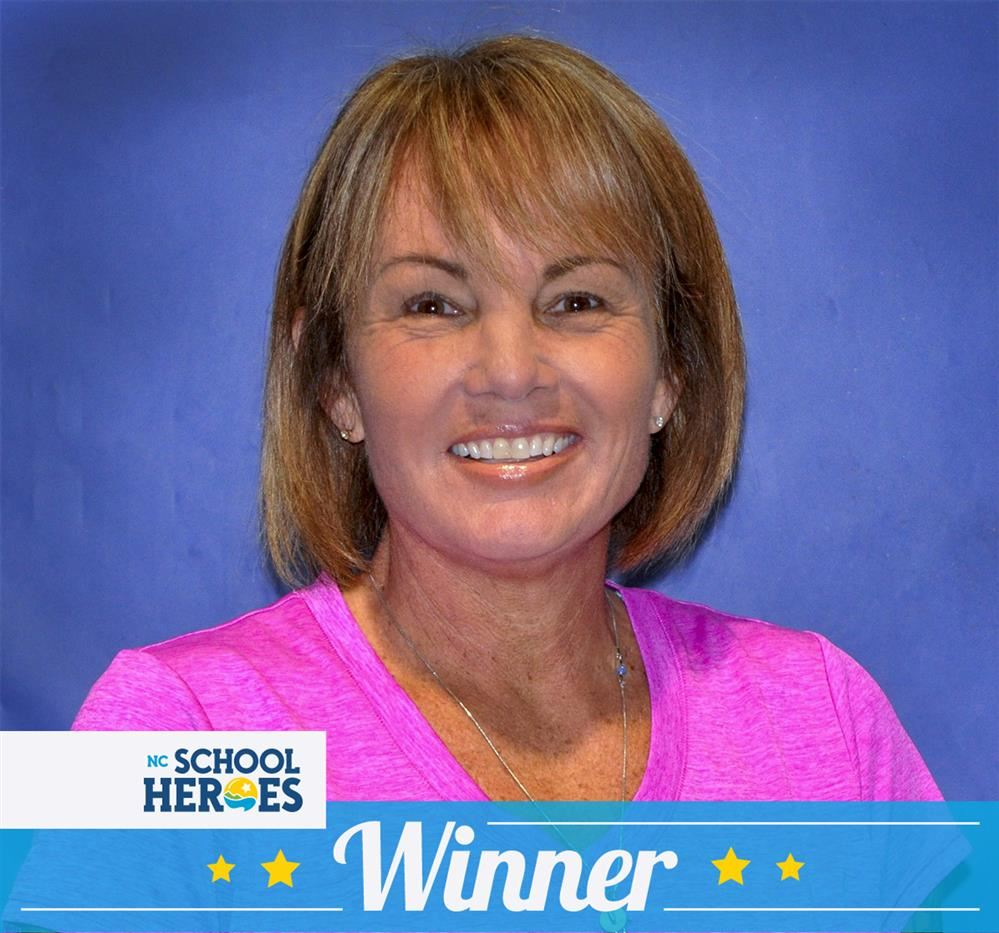 Maria McMullin NC School Hero Winner