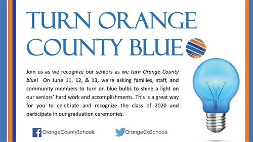 turn orange county blue graphic