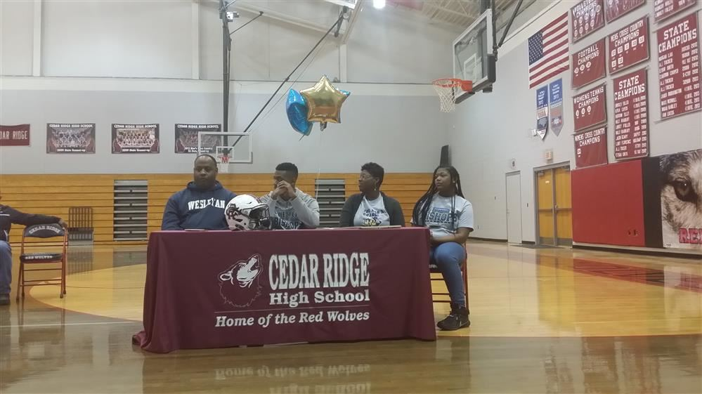 Kevin Wright Signs with North Carolina Wesleyan Football
